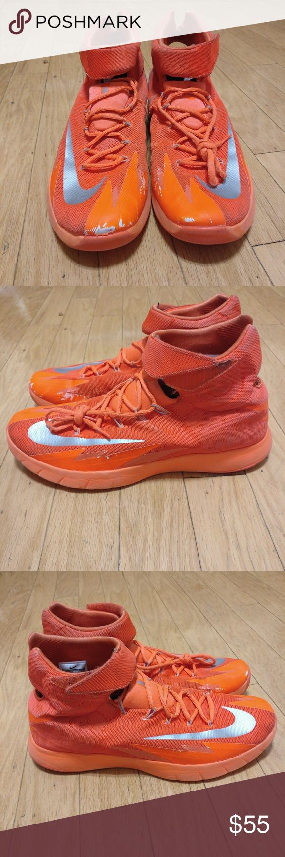 Nike Zoom Hyper Rev Kyrie Orange 8/10 condition. In overall very good condition. Nike Shoes Athletic Shoes