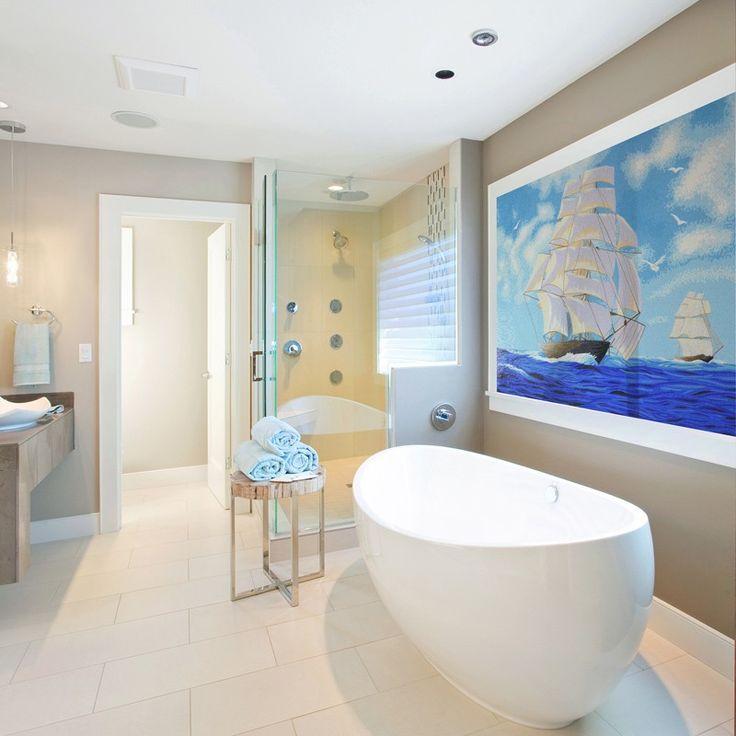 Oltre 25 fantastiche idee su piastrelle di vetro su - Incollare piastrelle su piastrelle bagno ...