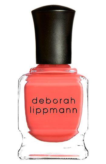 Great nail color.