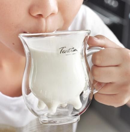 Teatime milk cup  #2013JuneDairyMonth  #CelebrateDairy