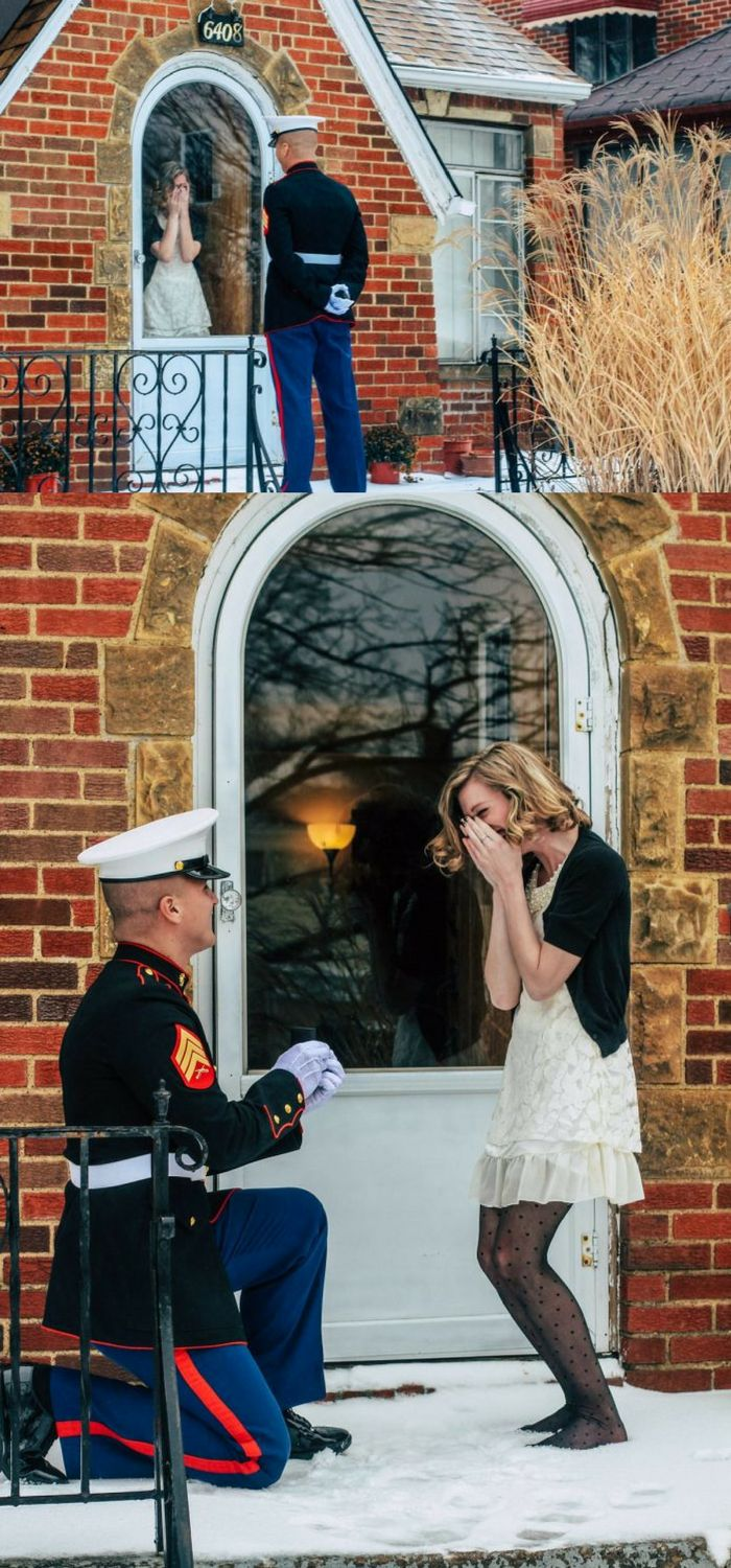 25 best ideas about military proposal on pinterest army for Best at home proposal ideas