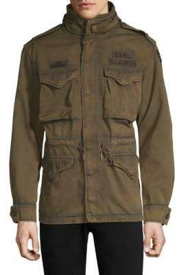 Polo Ralph Lauren Distressed Military Field Jacket