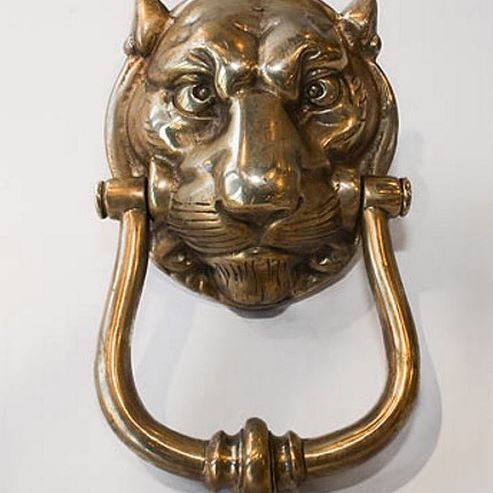 The Leopard Front Door Knocker Is An Exciting, Opulent Piece To Center On  Your Front