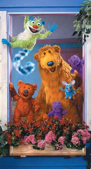 Bear in the big blue house used to be my favorite show when I was really little. Tutter was my favorite because he was so crazy and cute. My sister and I had the whole collection of stuffed animals. We had a big blue house and we used to play everyday with it.