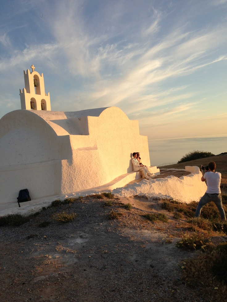 What an amazing day, what an amazing sunset with Kerry & Eiston! @Sunrise Greece