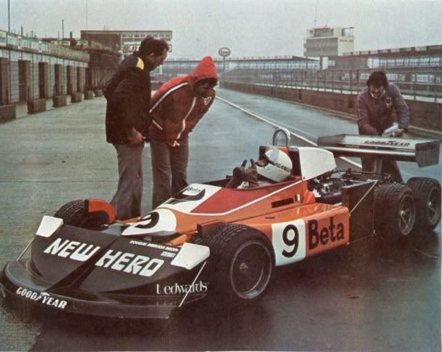 1977 March 2-4-0 - Ford (Howden Ganley test)