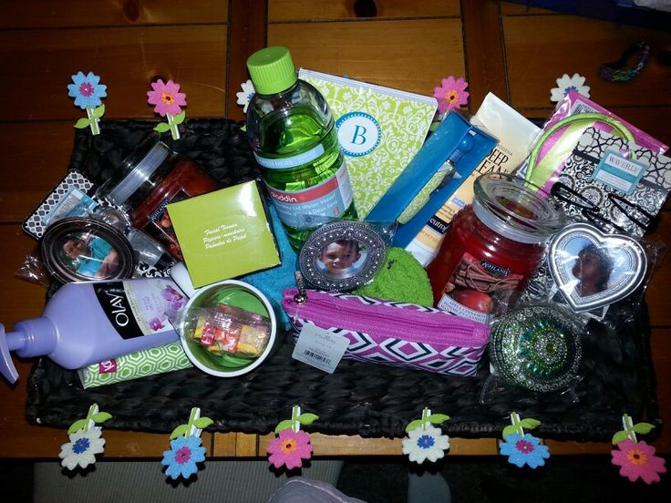 Gift Basket Ideas Best Friend I Made Up For Birthday Diy