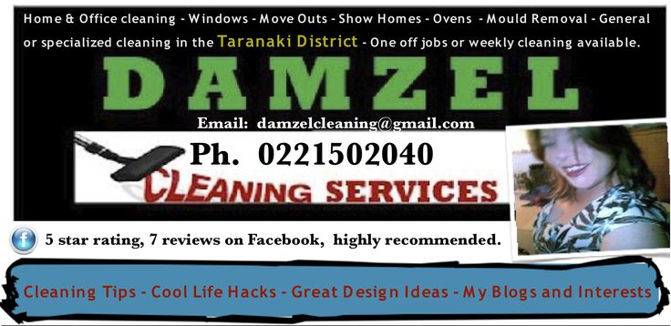 NEW Cleaning tips and things of interest by Damzel Cleaning Services