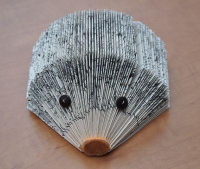 Tutorial - paper hedgehog