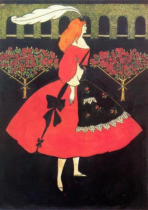 Aubrey Beardsley, The Slippers of Cinderella, 1894