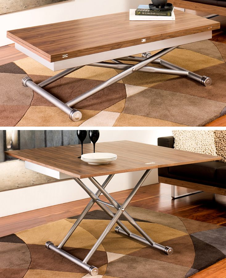 elevating coffee table