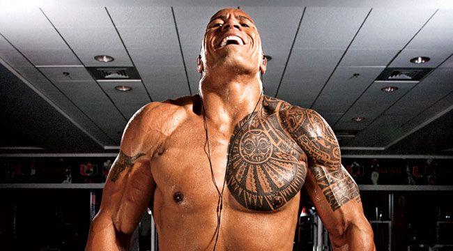 Train Like The Rock: Dwayne Johnson's Shoulder Routine Dwayne Johnson gives M the routine behind his superstar shoulders.