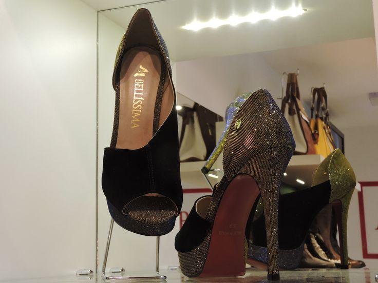 Na Belissima do Shop São José, você encontra o sapato ideal. Suas convidadas e madrinhas também!  - PISO L2