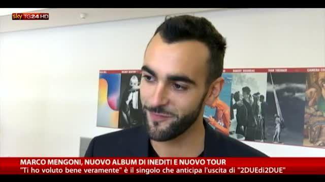 Marco Mengoni, nuovo album di inediti e nuovo tour