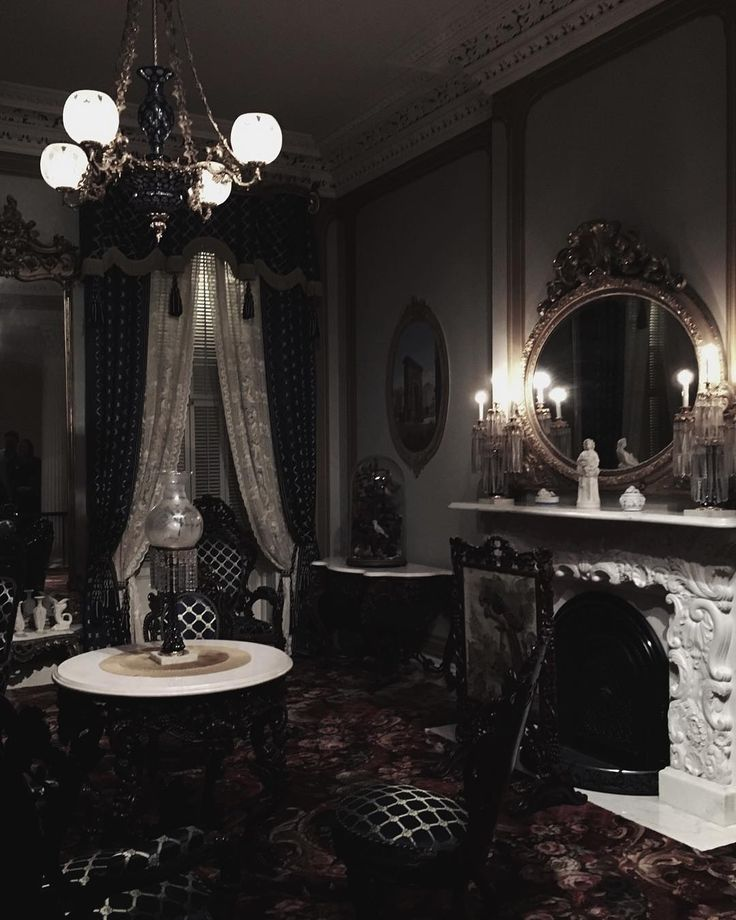 16 Ideas Of Victorian Interior Design: Gothic Home Decor, Victorian Decor And Modern Gothic