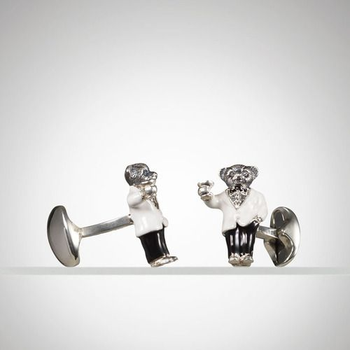 Country Club Life Style / karen cox. Ralph Lauren Tuxedo Bear Cuff Links