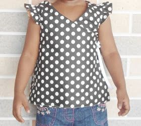 Frills and Flares: Reversible Wrap Top