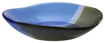 Rosenthal Multi-Colored Glass Bowl - Modern - Serving Utensils ...