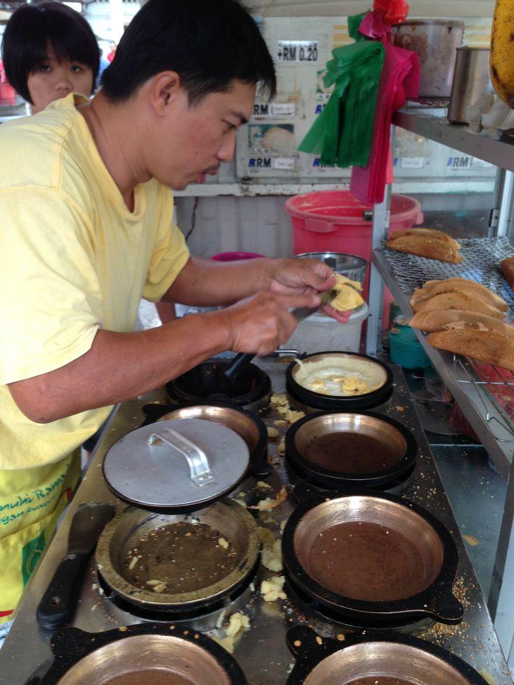 Making of Ban Chang Kueh take 2