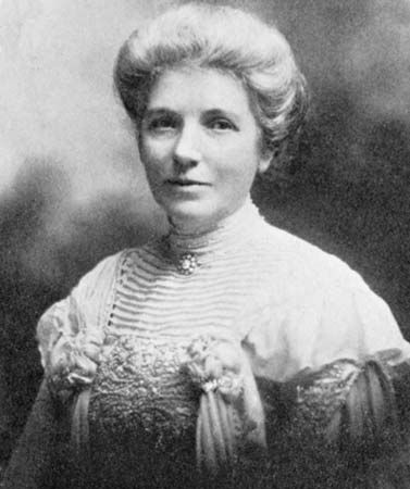 """Kate Sheppard: """"She was instrumental in making New Zealand the first country in the world to grant women the right to vote (1893)..."""" 