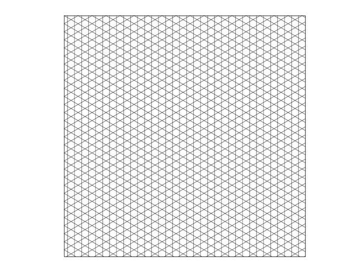 ¿Necesitas una cuadrícula isométrica para diseñar algo? Es muy fácil hacer una usando Adobe Illustrator. Sigue este tutorial para aprender cómo. En Adobe Illustrator ve a Archivo > Nuevo > Nuevo documento, y crea un documento que mida 1000 ...