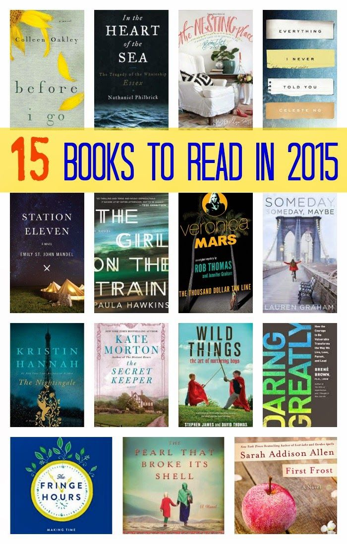 15 Books to Read in 2015    The Chirping Moms