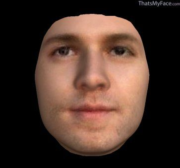 """Thumbnail of Thomas Rolfe as 3D Face this is my 11x great grandfather, Thomas Rolfe son of Matoka """"Pochahontas"""" and John Rolfe"""