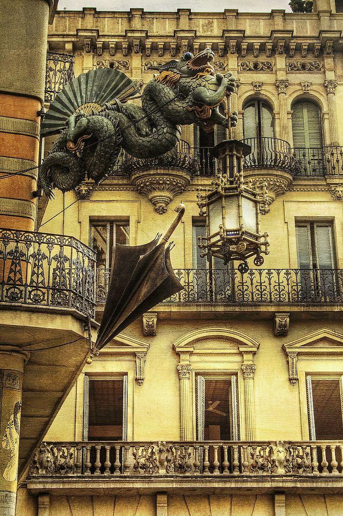 Las Ramblas, Barrio Gótico - Barcelona, España - Spain