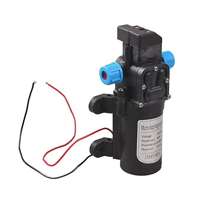 Kangkang Dc 12v 60w Mini Micro Car Diaphragm High Pressure Water Pump With Automatic Switch Amazon Com Diaphragm Pump Electric Water Pump Water Pumps