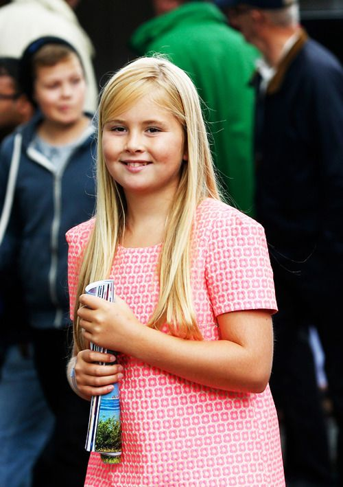 royalwatcher: Princess Amalia, August 31, 2014
