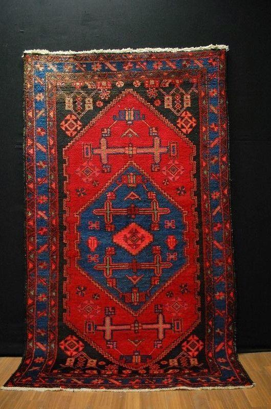 ANTICO MALAYER  TAPPETO     misure: 210x125cm   rug handrug TAPIS  | eBay
