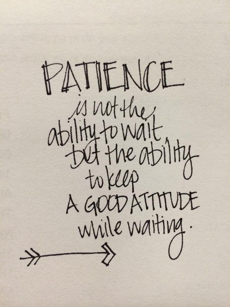 Spiritual Quotes On Patience. QuotesGram