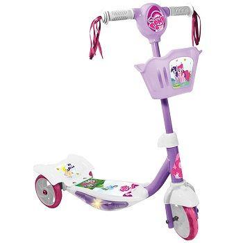 Patinete – C/ Luz My Litte Pony Lilás R$ 113,90 ou 5x de R$ 22,78