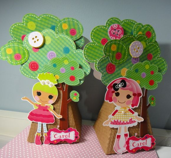 Caixa Cone Árvore Lalaloopsy