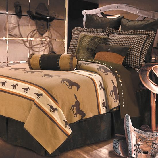 205 best western decor images on pinterest 13807 | 7b246943e6fb78a9fa435e0ca2176664 horse bedrooms western bedrooms