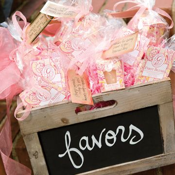 Greenleaf small sachets make great favors. Just choose your signature fragrance!
