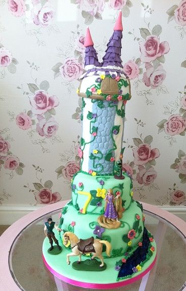 15 best Tangled birthday images on Pinterest Birthday cakes