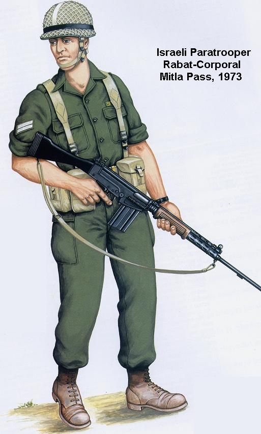 Israeli Paratrooper Rabat-Corporal Mitla Pass 1973