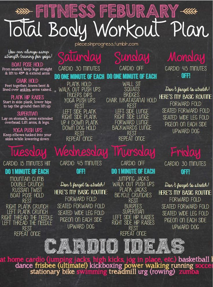 This month's workout plan! I included a printable... | Pieces in Progress: Living fit, healthy, happy!