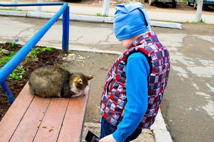 Детский жилет для прогулок в прохладную погоду