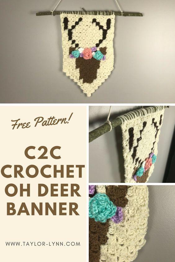 Here S A Unique Home Decor Idea Free Crochet Pattern For The Corner