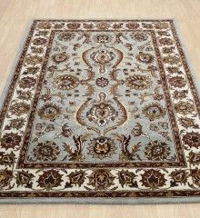 Blue Traditional Wool Rugs Orient 113