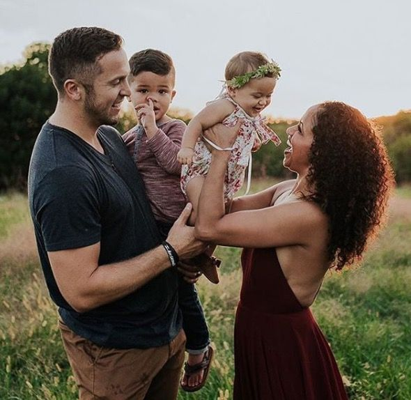 Gorgeous interracial family photography (especially with their adorable baby boy picking his nose!) #love #wmbw #bwwm #favorite ❤