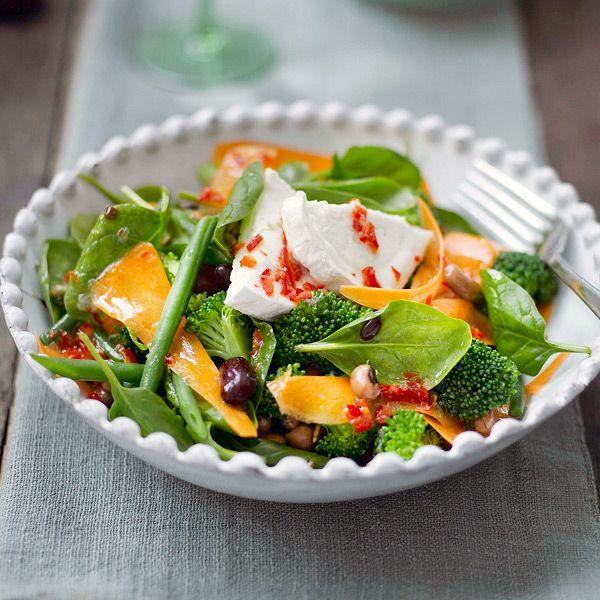 WeightWatchers.fr : recette Weight Watchers - Salade d'hiver au chèvre et au miel
