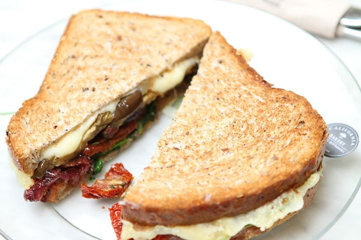 Eggplant Sandwich by California Bakery
