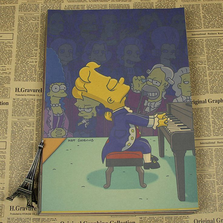 The Simpsons Vintage Poster / wall sticker 42*30cm  $7.99 Free Shipping worldwide if you like it share it with your friends ! Link in BIO section ! #thesimpsons #thesimpsonstappedout #thesimpsonsclips #thesimpsonsmovie #thesimpsonsride #thesimpsonstattoo #thesimpsonsfan #thesimpsonslego #thesimpsonsgame #thesimpsonstoys #thesimpsonsman