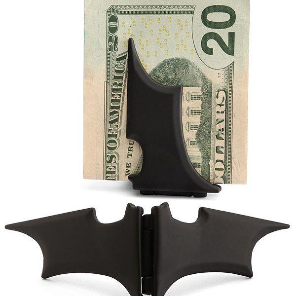 Batarang Money Clip - $17 ⋆ Gifts for Batman Fans!