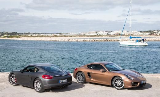 View  Porsche Cayman Cayman S Photos From Car And Driver Find High Resolution Car Images In Our Photo Gallery Archive