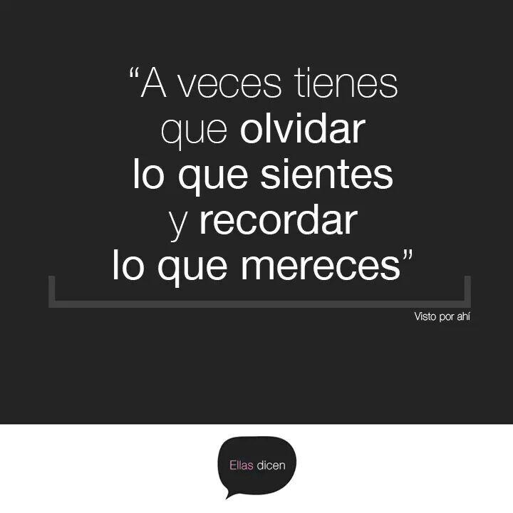 """""""Es tan corto el #amor y tan largo el olvido""""... #mujeres #frases"""