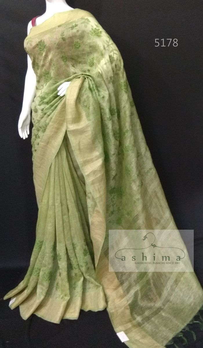 Pure silk saree 2018 linen saree  in   indian saree fashion  pinterest  saree